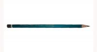 Карандаш графитовый Nataraj Neon HB с ластиком. Синий корпус