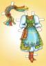 """Книга-аплікація """"Одягни ляльку. Міс Україна"""""""