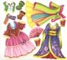 Чарівна майстерня. Лисичка-сестричка. Багаторазові наліпки-костюми.
