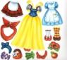 Модна майстерня. Казковий карнавал. Багаторазові наліпки-костюми.