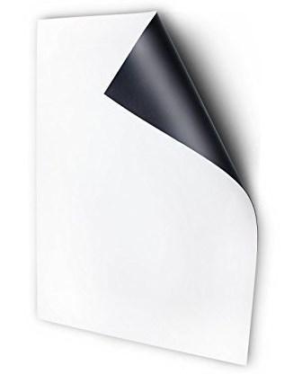 Магнитный винил А6, 0,9мм без клеевого слоя