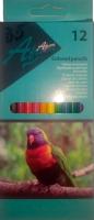 Карандаши цветные Africa. 12 штук.
