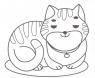 """Розфарбовка для малят. Розфарбовка """"Коти та собаки"""""""