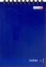 Блокнот А6, 48, офс., пруж. гор. синий