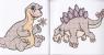 Розмальовка водна А6 (Динозаврик)