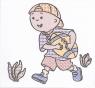 Розмальовка водна А6 (Маленький хлопчик)