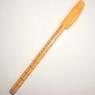Ручка синяя шариковая Cello-702, оранжевый корпус