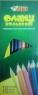 Карандаши цветные Tiki. 18 штук