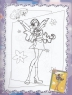 Раскраска А4, наклейка-пазл, лабиринт, маска, Winx club