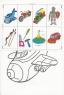 """Розмальовка-іграшка А4 з кольоровими наклейками """"Для хлопчиків"""""""