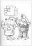 Розмальовка А4 (друзі-звірята)