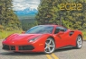 Карманный календарь на 2022 год, Красная машина