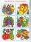 Багаторазові розмальовки + прописи та розвивальні завдання (Мавпа)