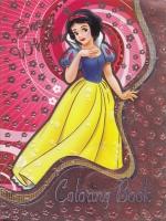 Раскраска А4, наклейки, Snow White