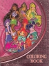 Раскраска А4, наклейки, Winx Club 2