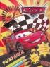 Раскраска А4, 16 наклеек, лабиринты, цветная маска, Cars